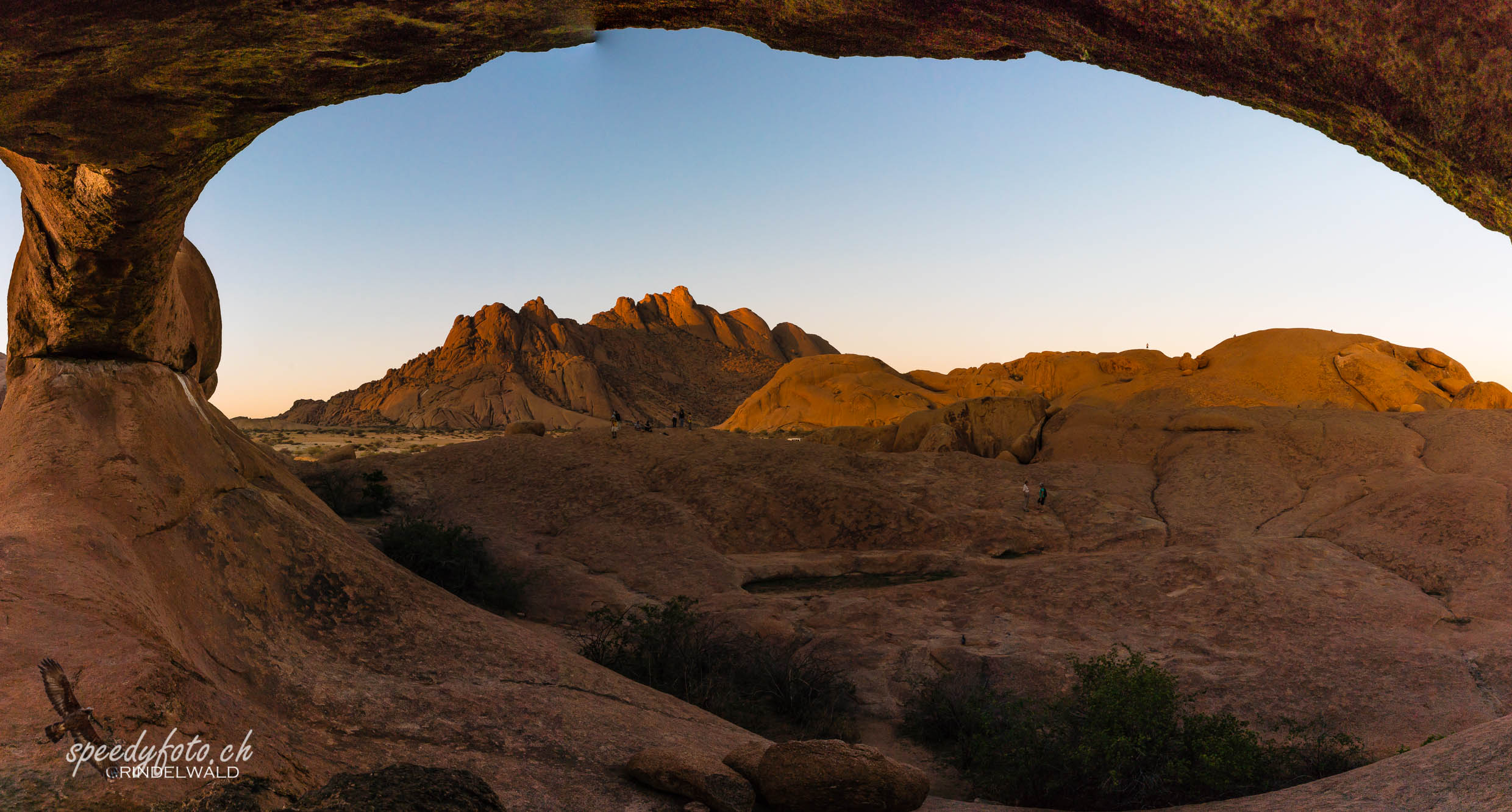 View from the Arch - Spitzkoppe