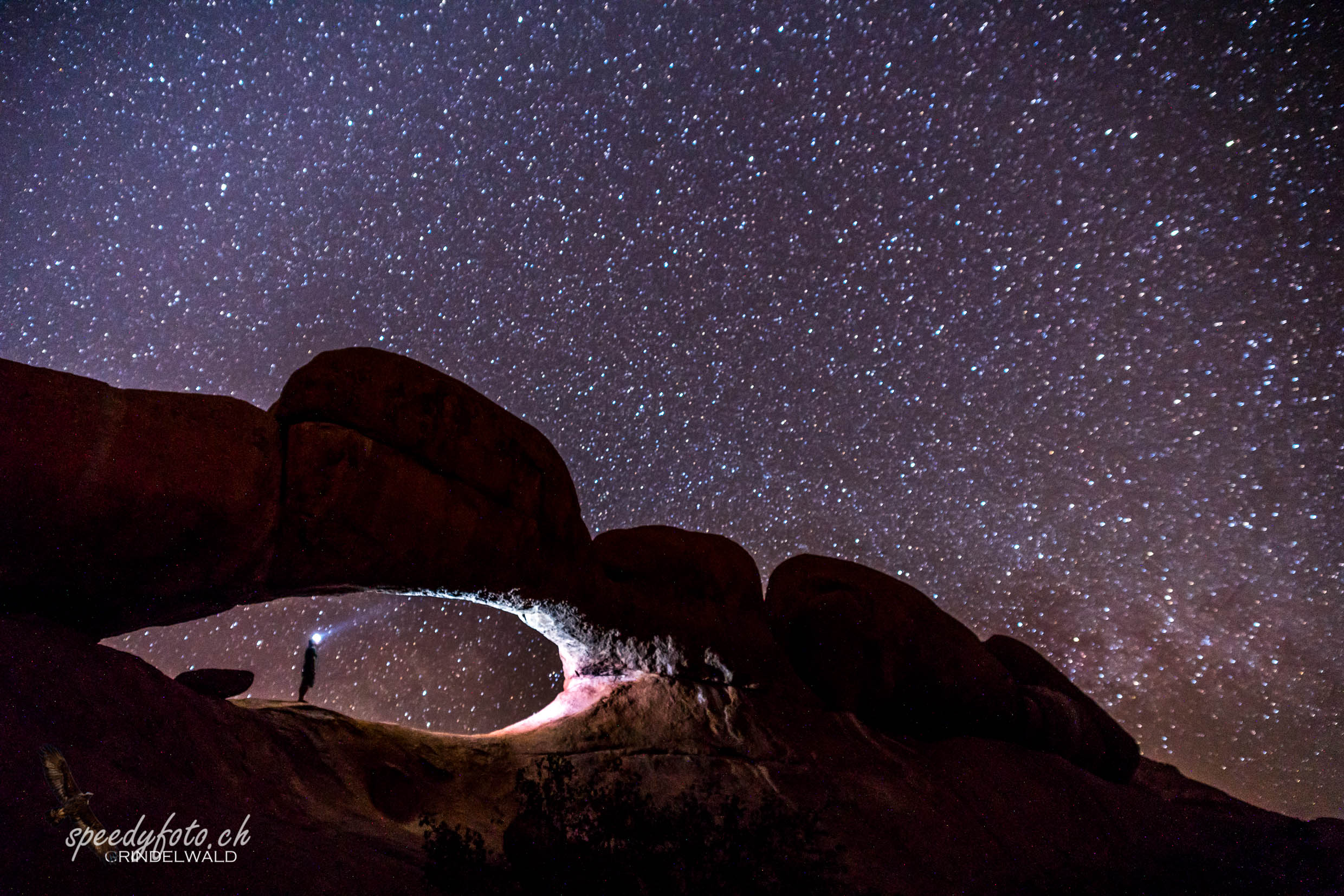 The Night View - Spitzkoppe