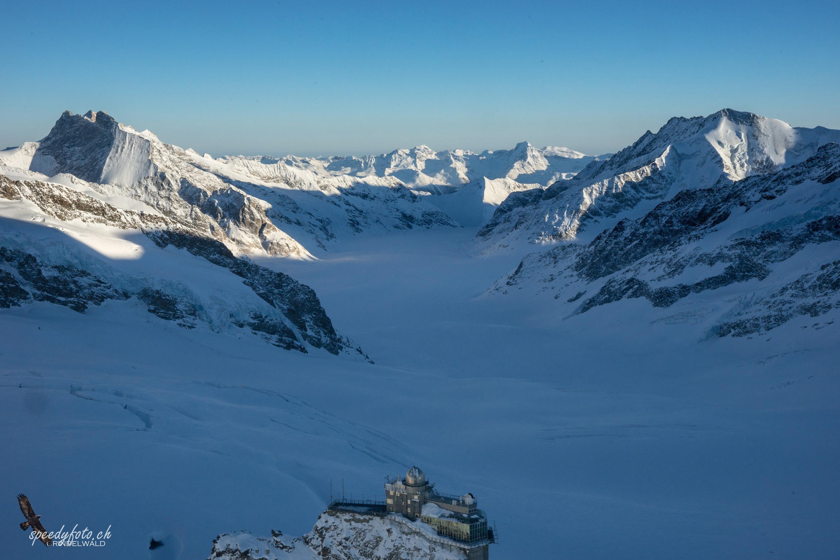 Unesco Welterbe - Jungfraujoch
