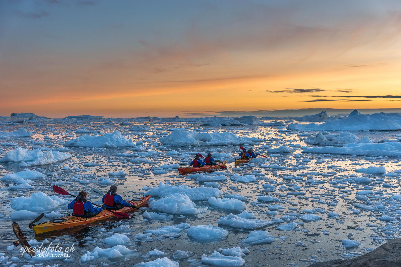 Kajak Sunset, Ilulissat