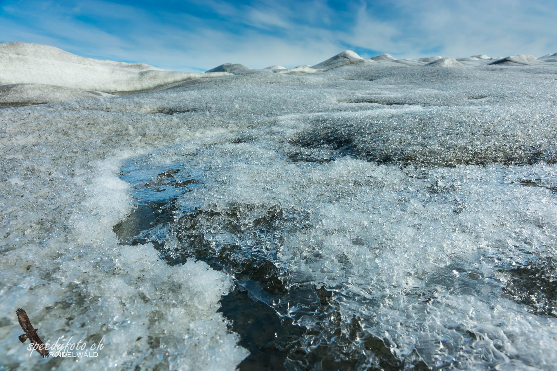 The Greenlandic Ice Sheet near Kangerlussuaq