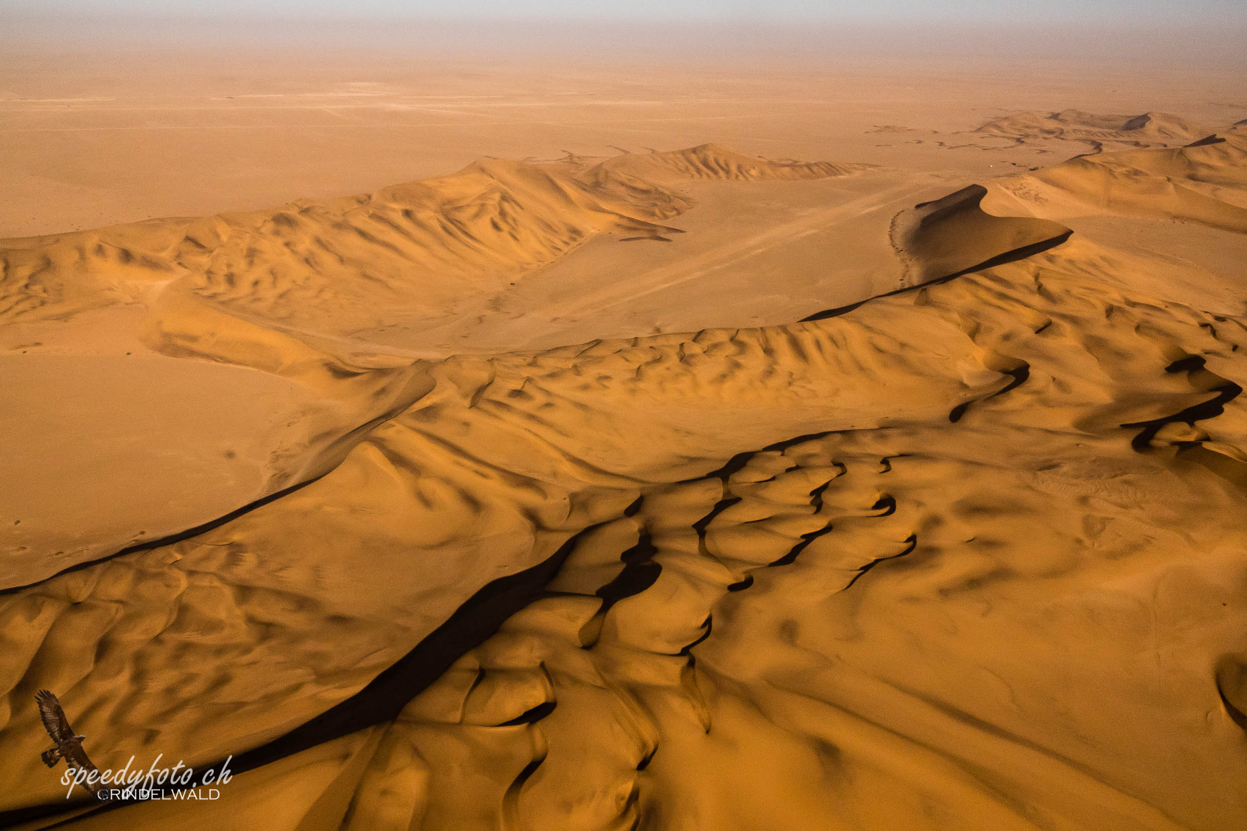 The Dunes - Aerial view