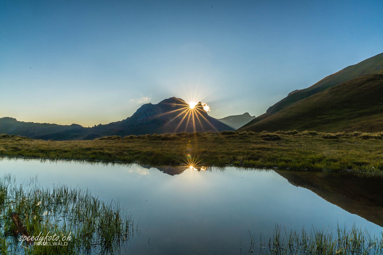 Reeti Sunset Grindelwald