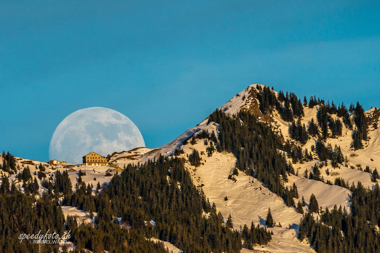 Mondaufgang - Gr. Scheidegg