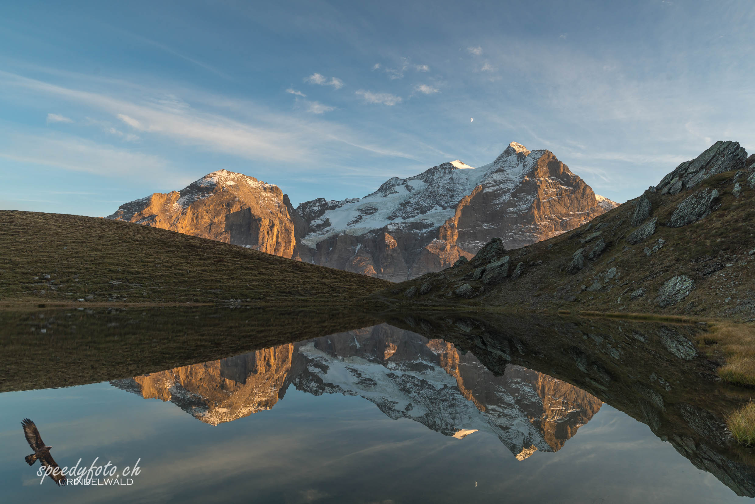 Reflection - Hornseeli - Wetterhorn