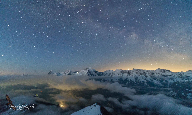 Bergnacht Berner Alpen