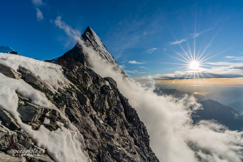 Am windigen Grat - Mittellegi Eiger