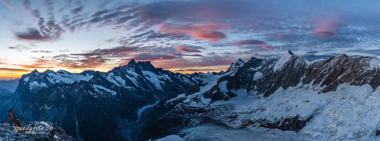 Im Schlaraffenland der Berner Alpen - Mittellegigrat