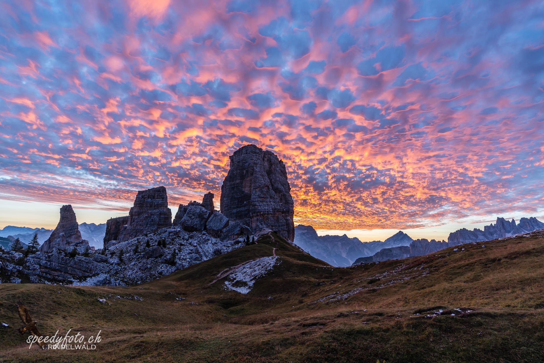 Burning Sky - 5 Torri Dolomiti