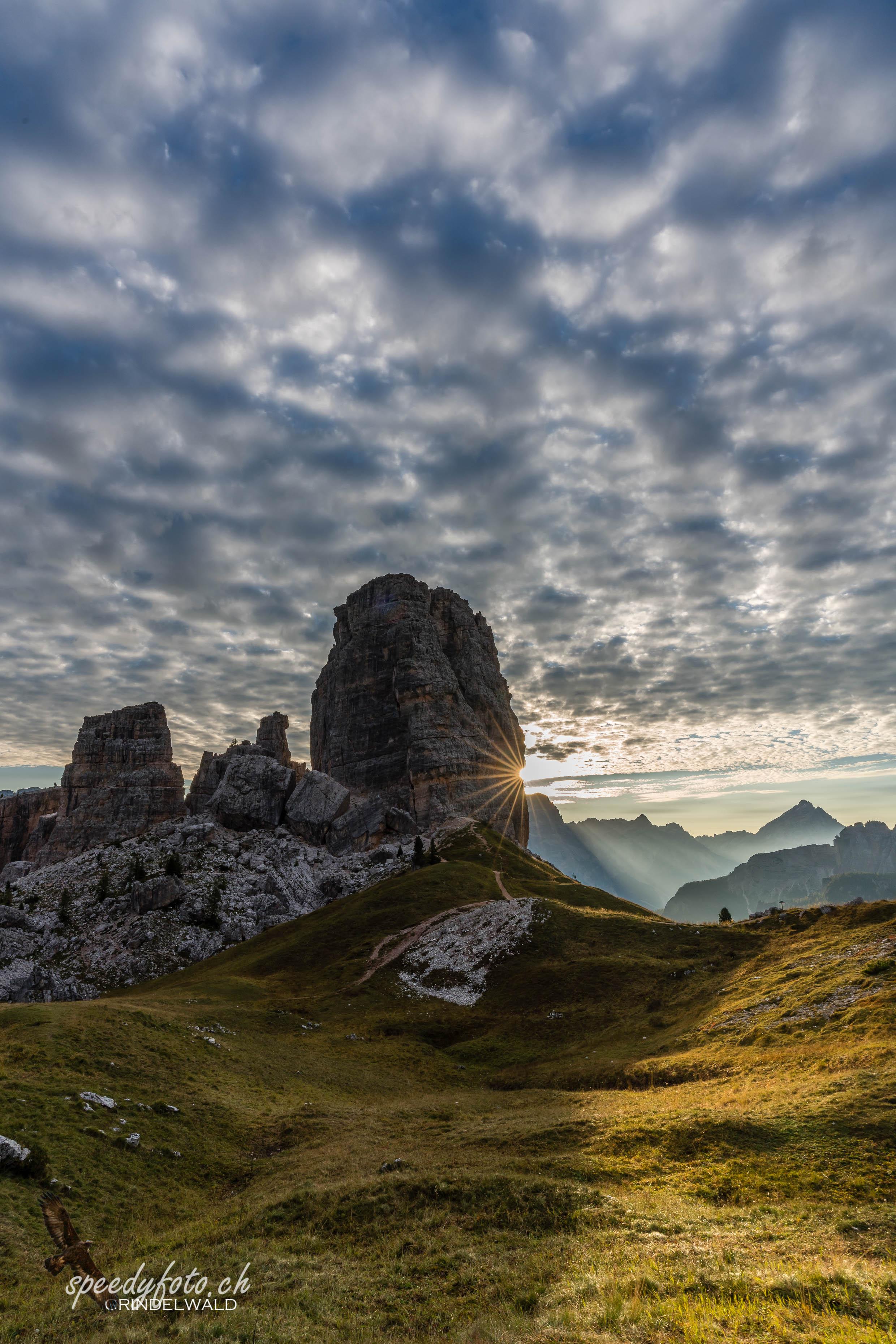 Lichtzauber 5 Torri - Dolomiten